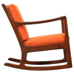 Ole Wanscher Rocking Chair for France & Son