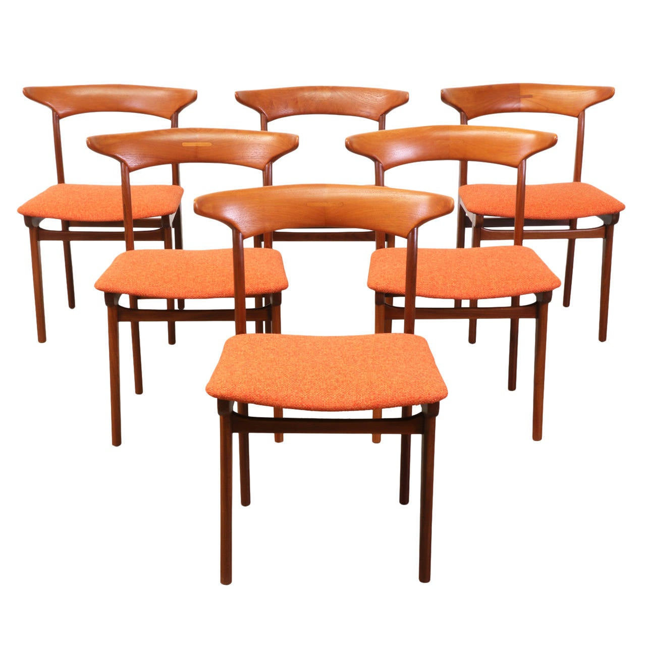Danish Modern Teak Dining Chairs At 1stdibs