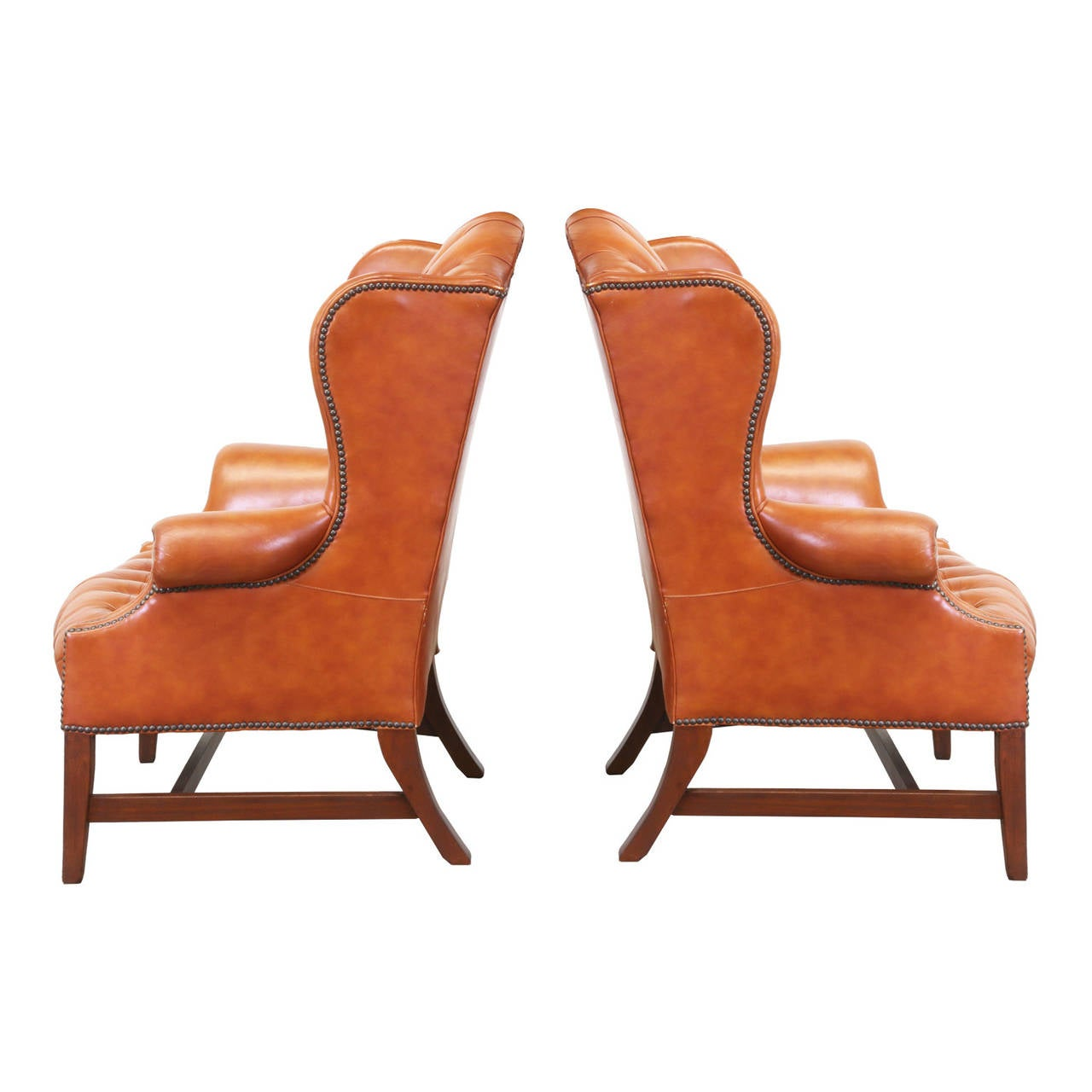 New Image Of Tufted High Back Chair