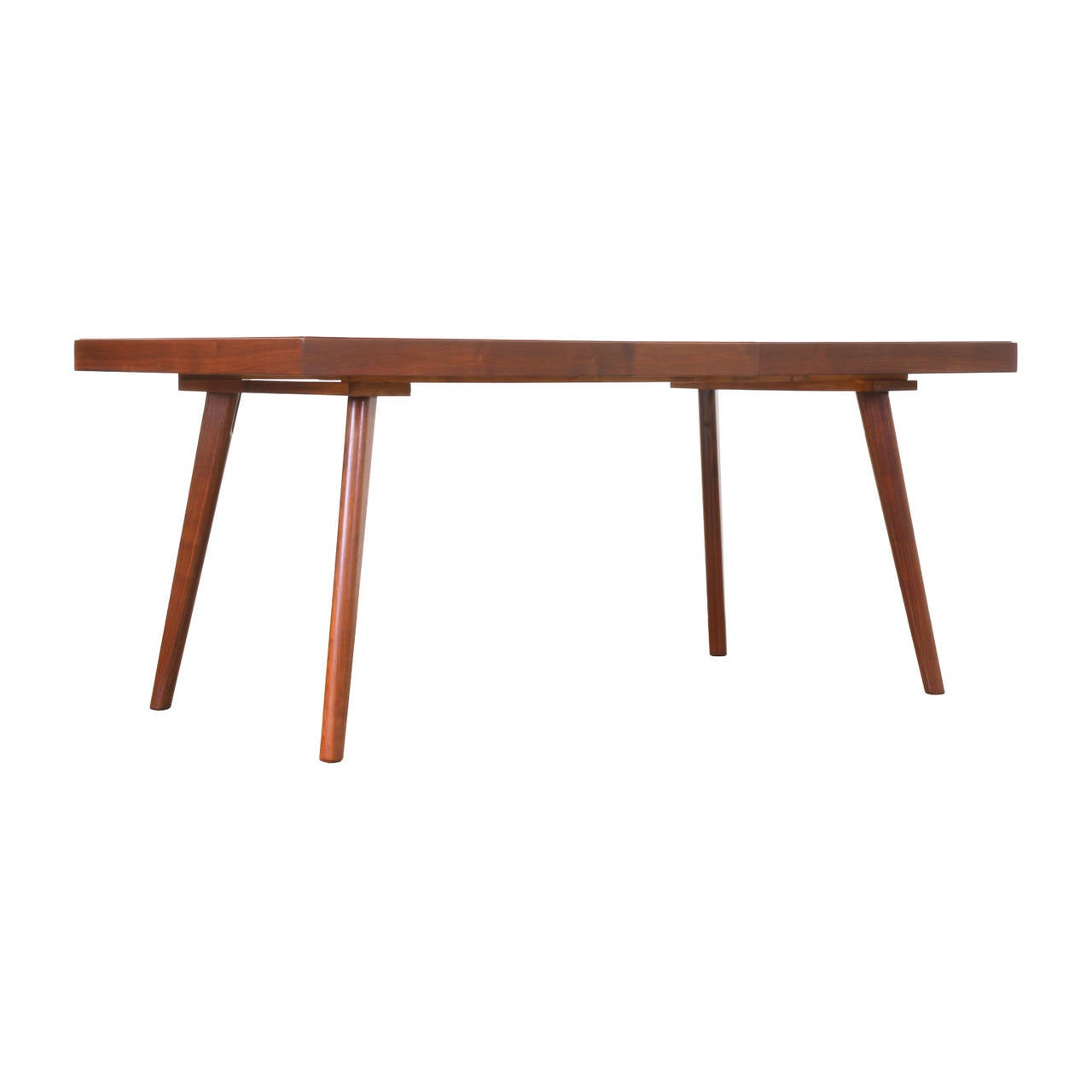 Walnut Glen Apartments: Stanley Young Walnut Dining Table For Glenn Of California