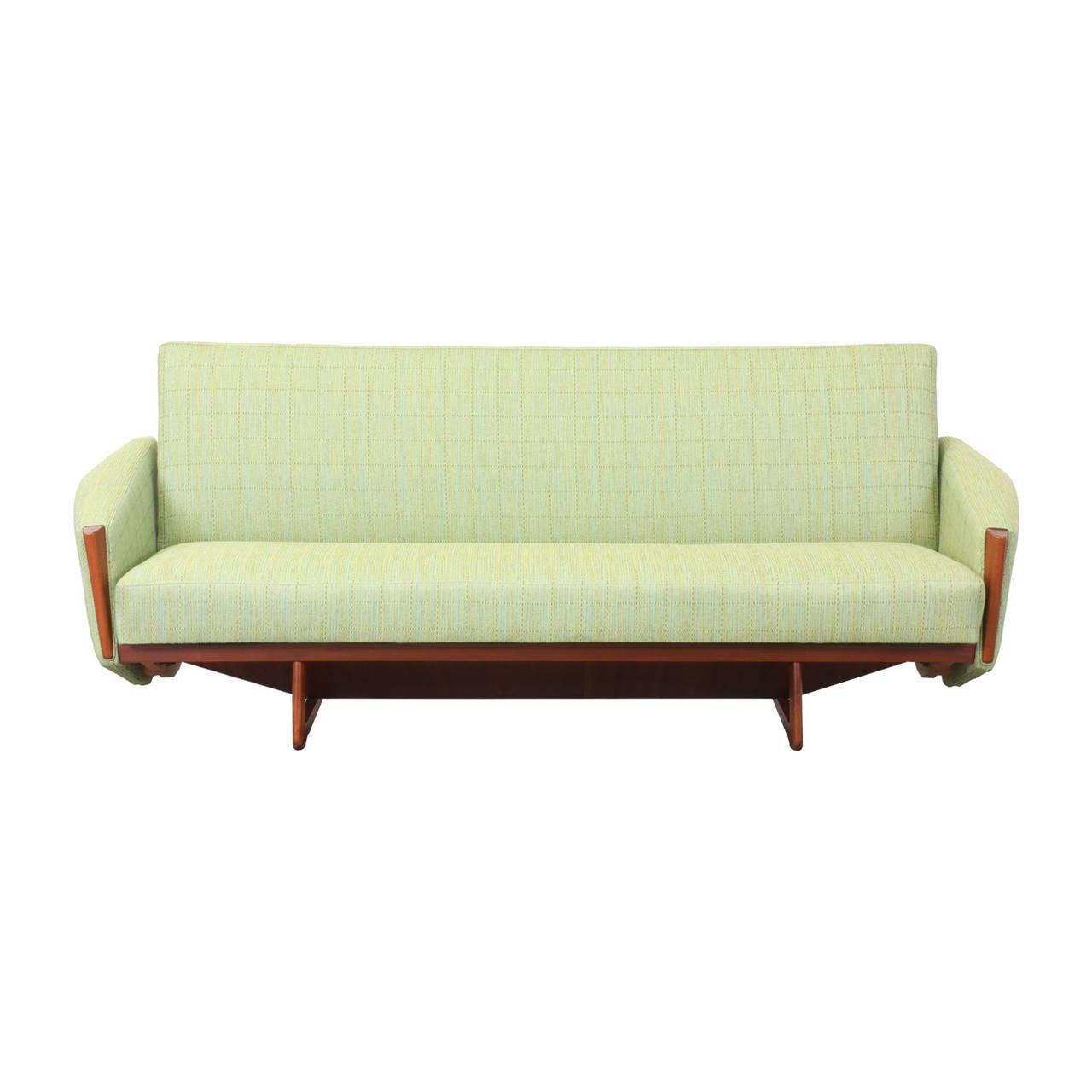 Danish Modern Sofas: Danish Modern Teak Sofa Bed At 1stdibs