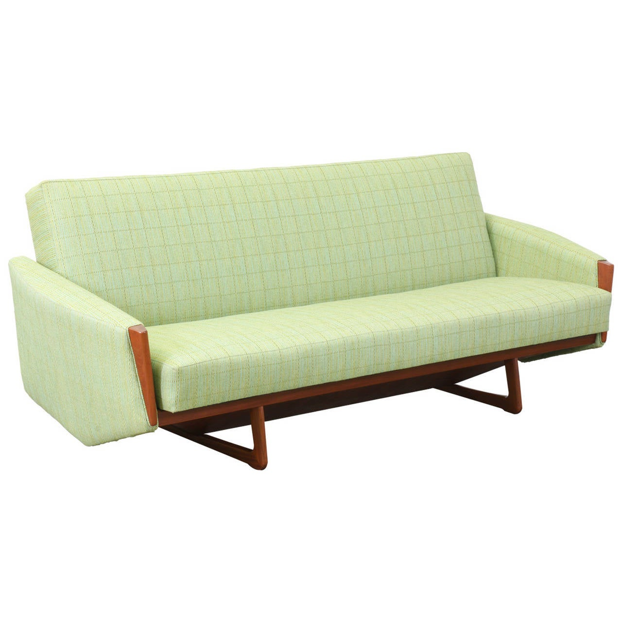Danish Modern Teak Sofa Bed At 1stdibs