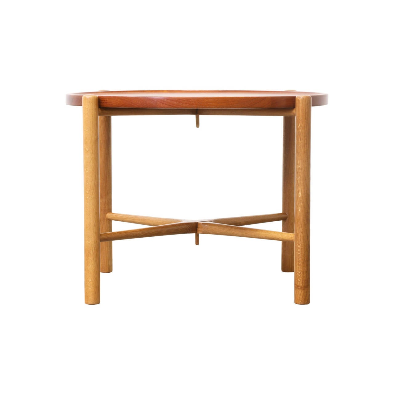 Hans J Wegner Reversible Folding Tray Top Coffee Table