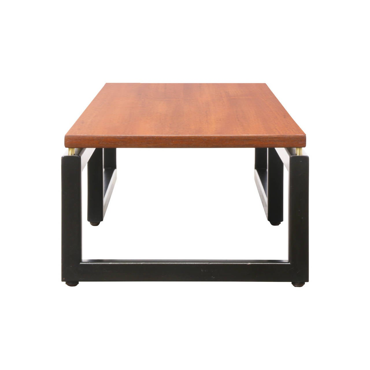 Michael Taylor New World Low Profile Coffee Table For Baker At 1stdibs