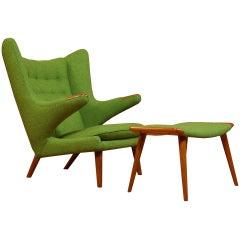Hans J. Wegner Vintage Papa Bear Chair