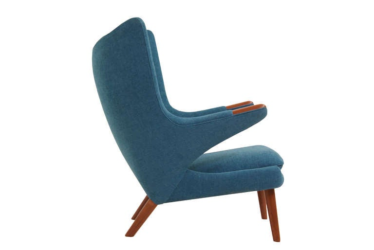 A P Stolen Papa Bear Chair By Hans J Wegner For Sale At