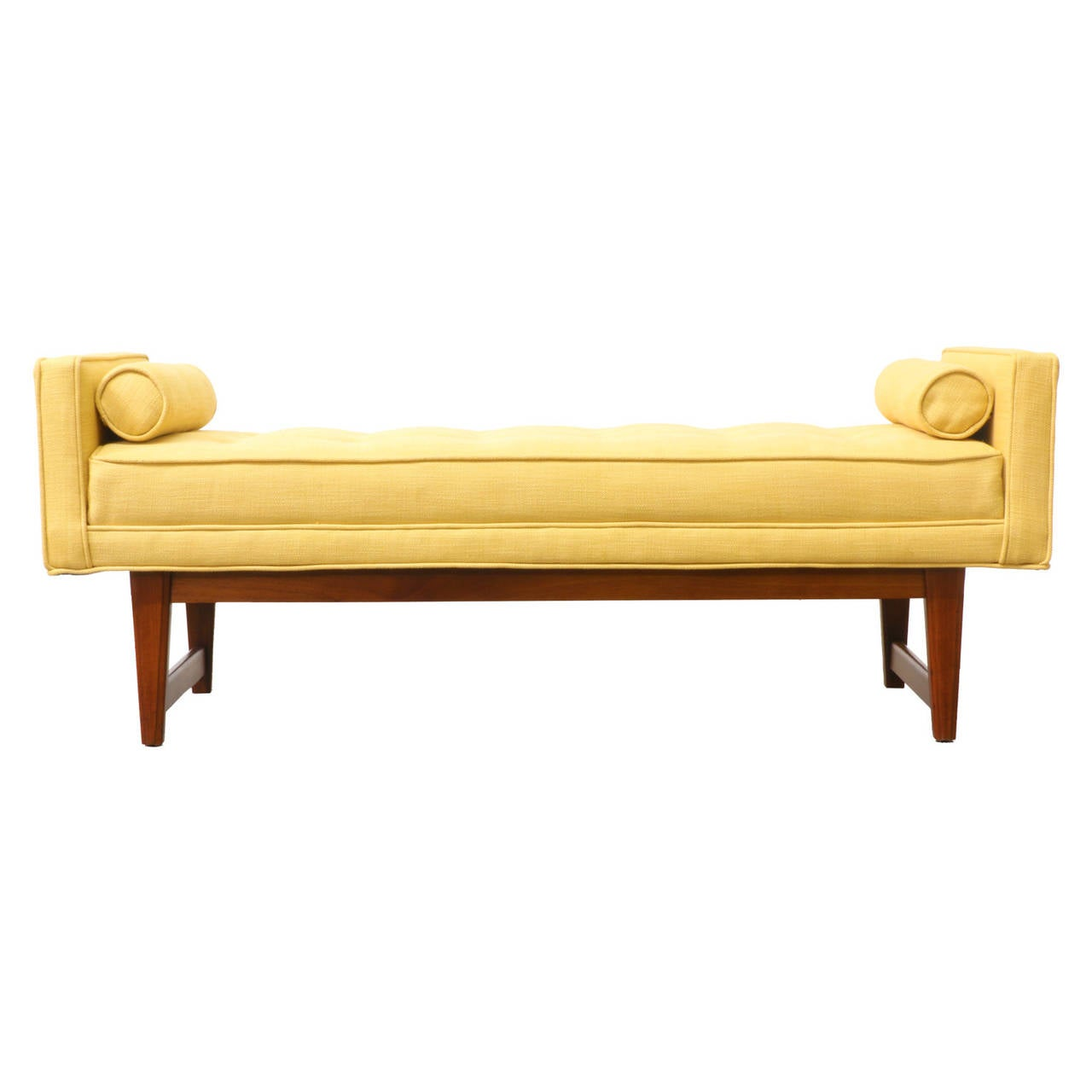 Mid Century Modern Tufted Bench At 1stdibs