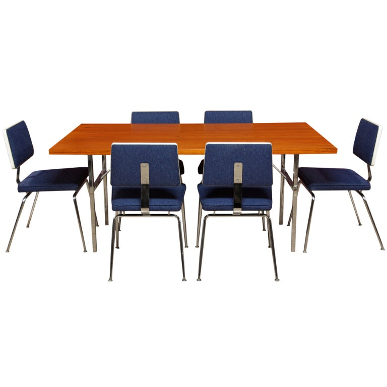 George nelson dining set for herman miller at stdibs
