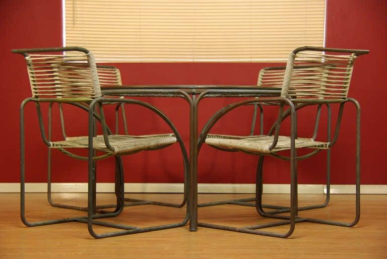 Kipp Stewart Bronze Patio Chairs For Terra At 1stdibs