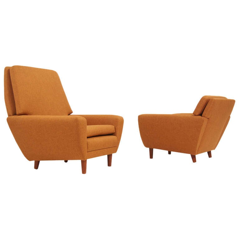 Danish Modern Lounge Chairs By Georg Thams For Sale At 1stdibs