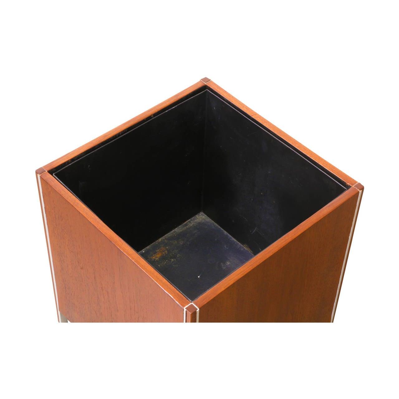 Midcentury Waste Basket For Sale At 1stdibs