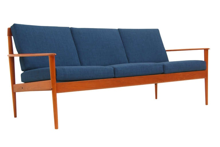 france and sons danish teak sofa by grete jalk for sale at