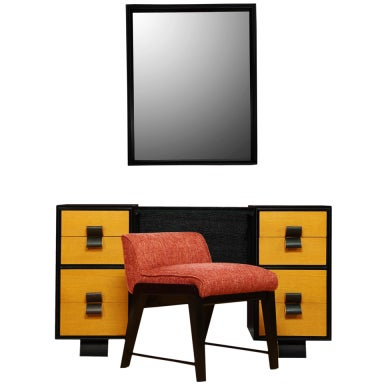 Herman Miller Vanity Set by Gilbert Rohde