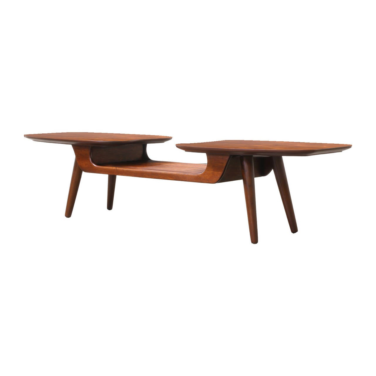 Floating Coffee Table Mid Century Floating Top Coffee Table By Ace Hi At 1stdibs