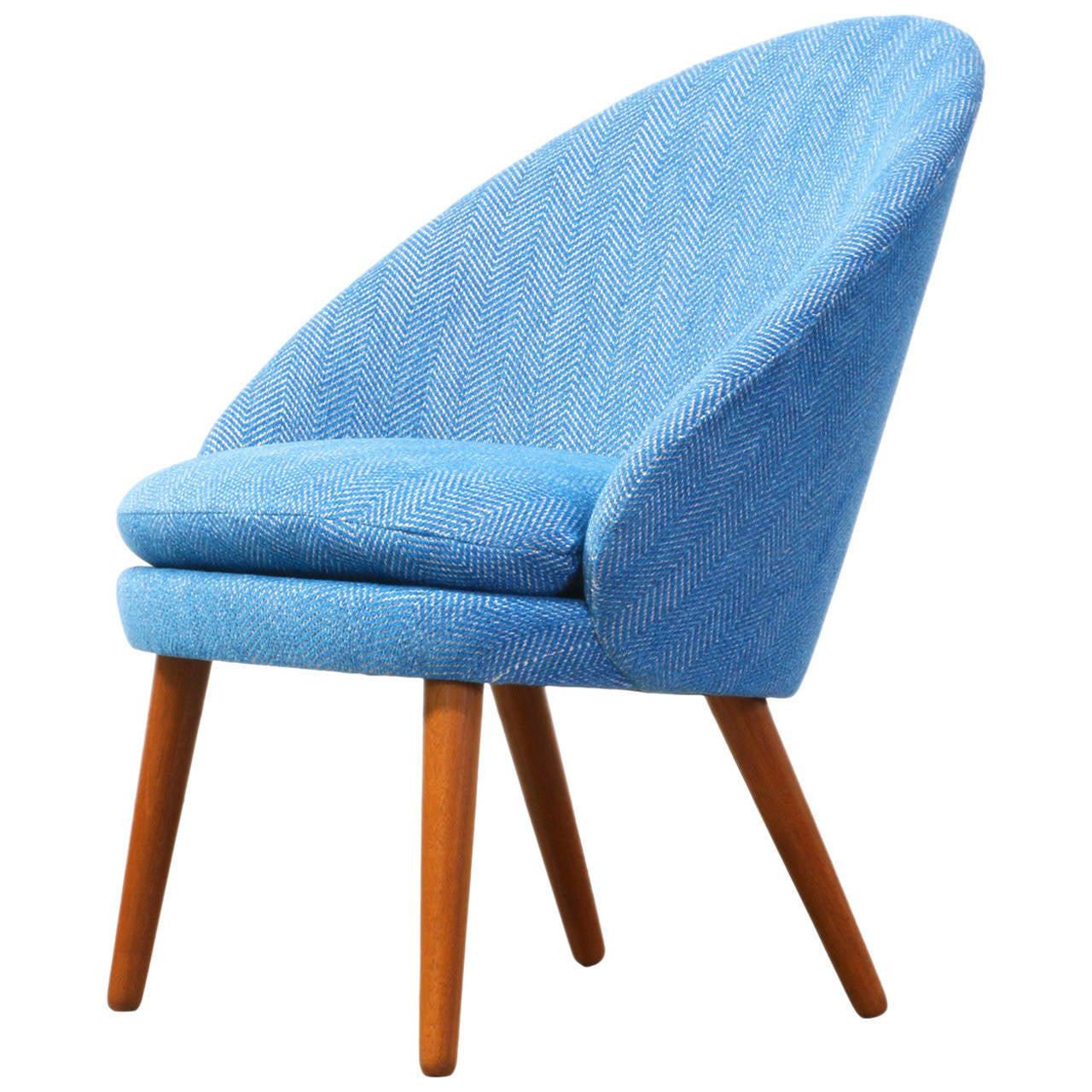 Rare E. Johansson #301 Tub Chair for Godfred H. Petersen at 1stdibs