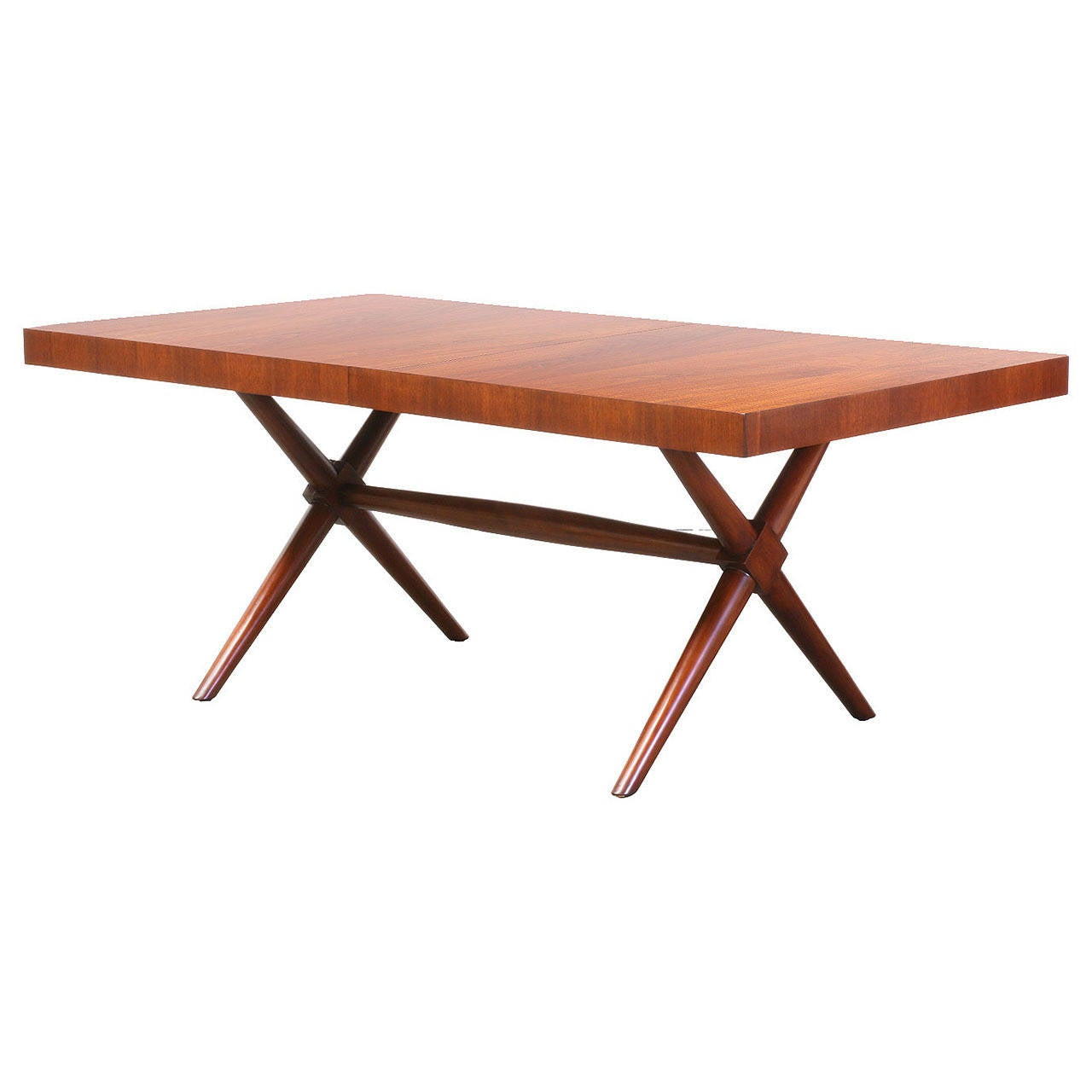 TH Robsjohn Gibbings X Base Dining Table For Widdicomb 1