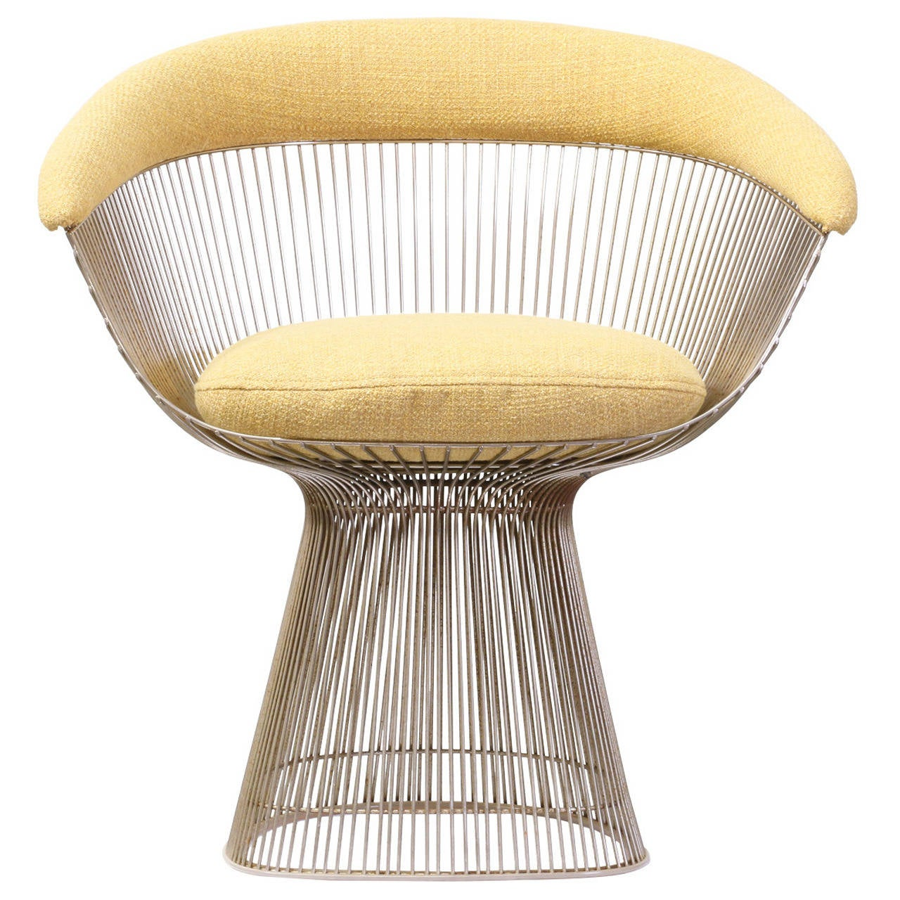 Warren Platner Steel Wire Chair for Knoll at 1stdibs