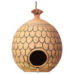 Brent Bennett Stoneware Birdhouse