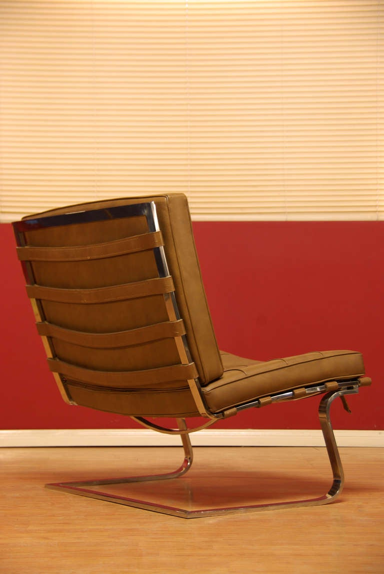 Tugendhat Chair By Ludwig Mies Van Der Rohe At 1stdibs