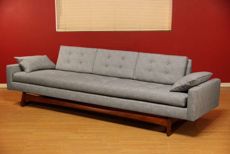 Adrian Sofa Adrian Pearsall Platform Sofa With Side Tables For