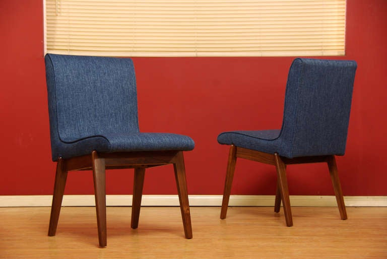 this walnut dining chairs by stanley young is no longer available
