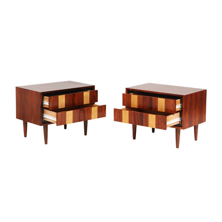 Dillingham multi wood night stands at 1stdibs for Multi night stand