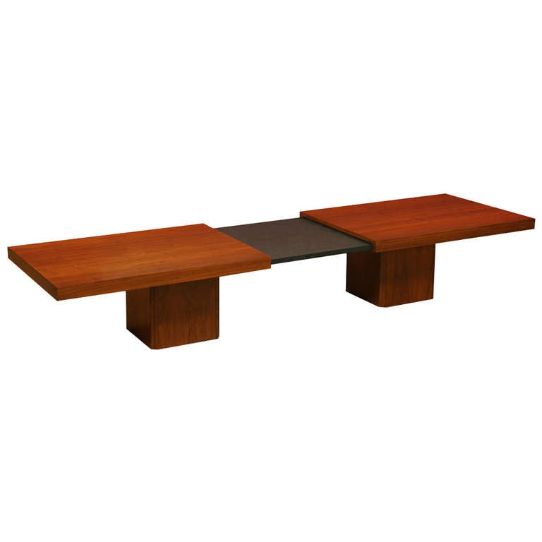 Expandable Coffee Table By John Keal At 1stdibs