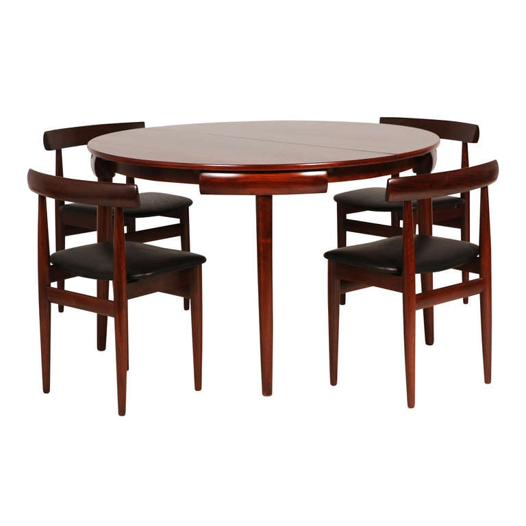 Hans Olsen Rosewood Dining Set at 1stdibs : 7l from www.1stdibs.com size 768 x 768 jpeg 34kB