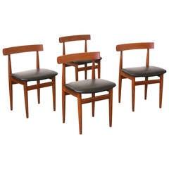 Hans Olsen Teak Dining Chairs for Frem Rojle
