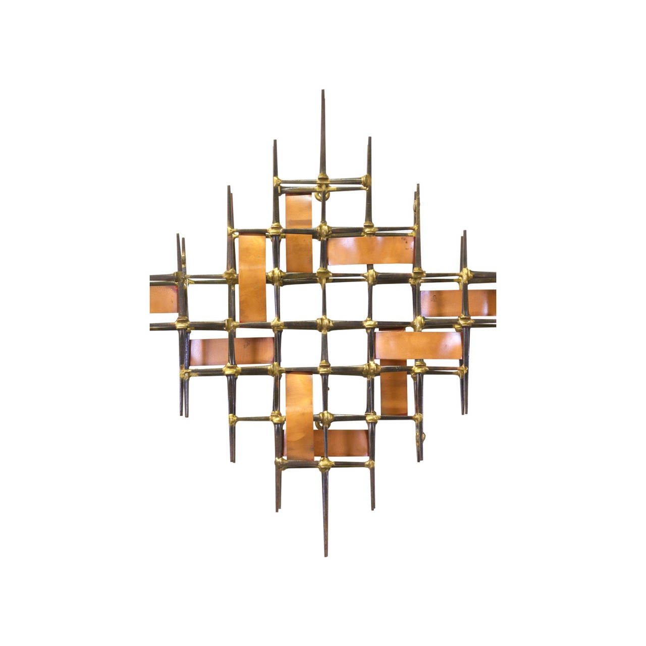 mid century brutalist abstract wall sculpture at 1stdibs. Black Bedroom Furniture Sets. Home Design Ideas