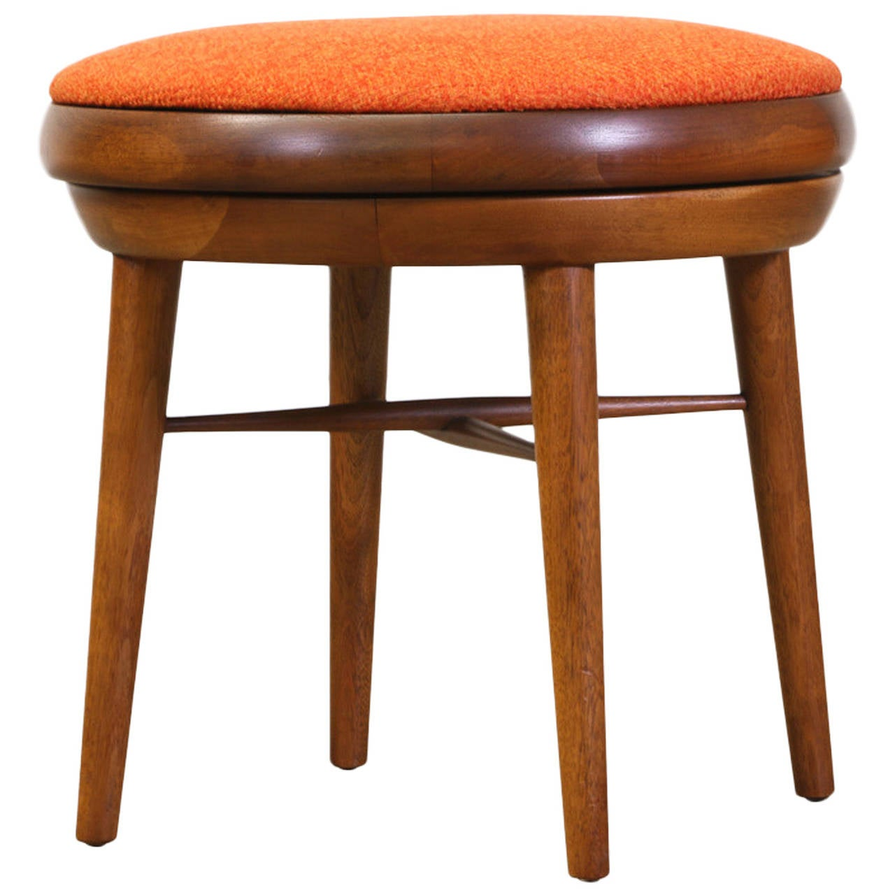 Mid Century Modern Swivel Stool At 1stdibs