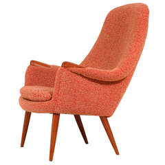 Gerhard Berg Lounge Chair for LK Hjelle