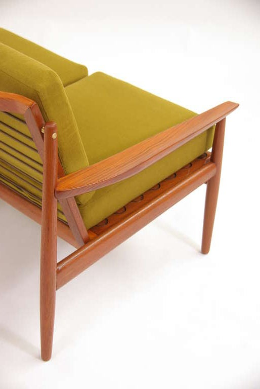 Danish Modern Teak Sofa By Arne Vodder For Sale At 1stdibs