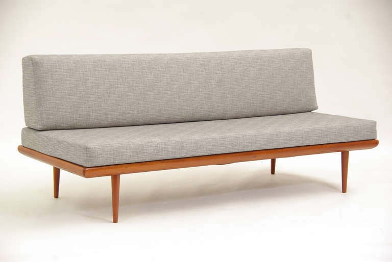 Chaise sofa chaise sofa d amp s furniture sofa with chaise lounge in sofa - Danish Modern Teak Daybed By Peter Hvidt And Orla Mogensen