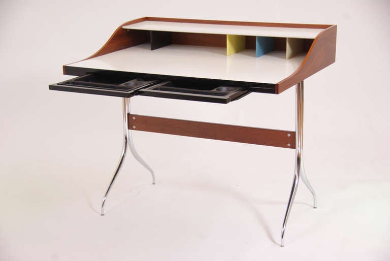 Vintage herman miller swag desk by george nelson at 1stdibs - Vintage herman miller ...