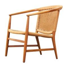 Illum Wikkelsø Rope Easy Lounge Chair