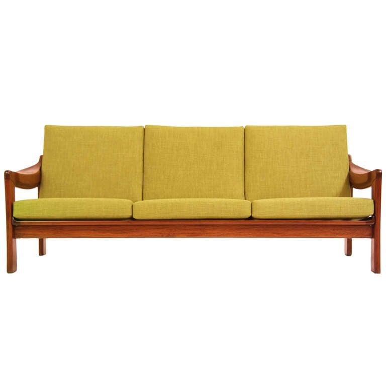 Vintage Brazilian Exotic Wood Sofa At 1stdibs