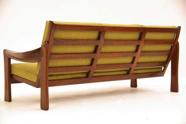 vintage brazilian exotic wood sofa at 1stdibs adrian pearsall sofas catalog adrian pearsall sofa virginia
