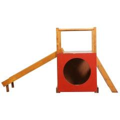 Creative Playthings Modernist Children's Slide / Fort