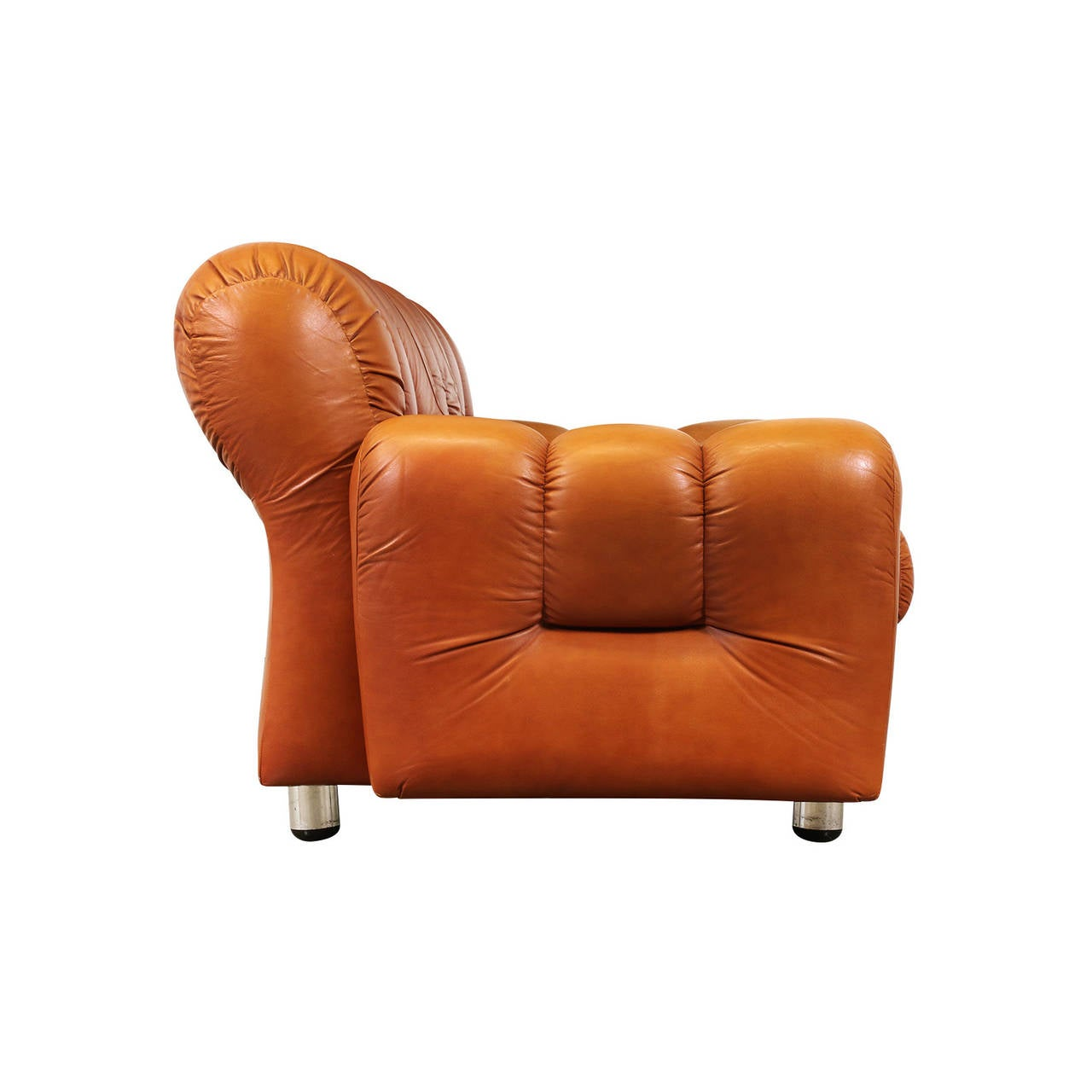 photos of tufted leather sofa
