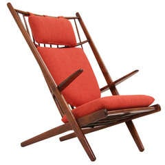 Danish Modern Chair by Poul M. Volther for Gemla Sweden