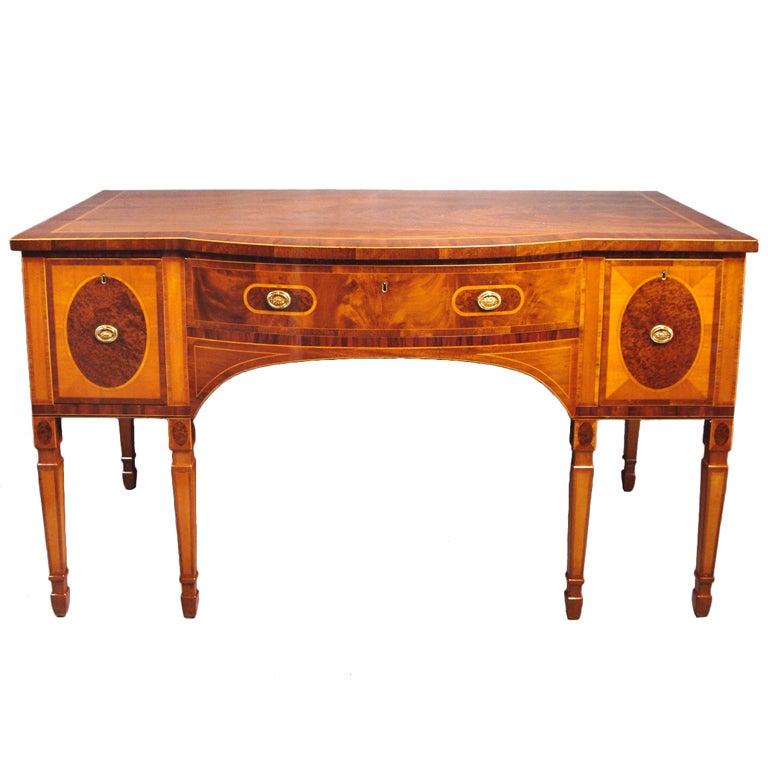 18th century George III period mahogany sideboard