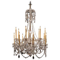 Fourteen-Light Chandelier by Perry