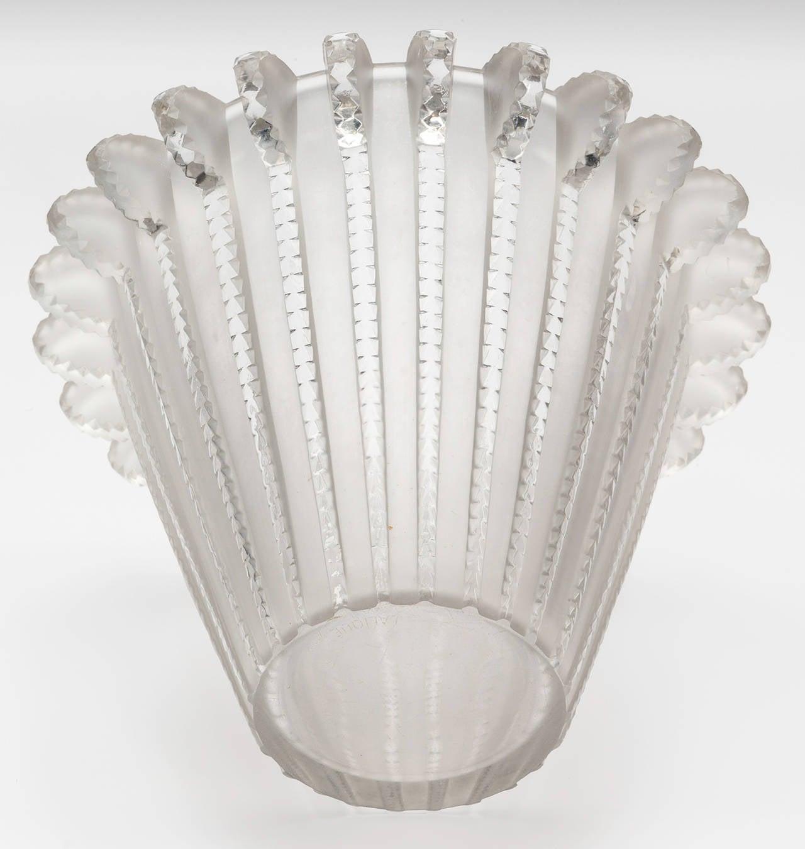 Rene Lalique Vase Royat Circa 1936 For Sale At 1stdibs
