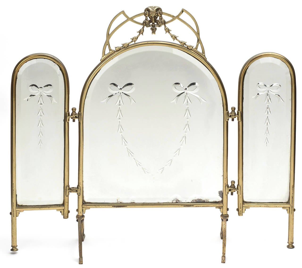Three Way Vanity Dressing Table Mirror At 1stdibs