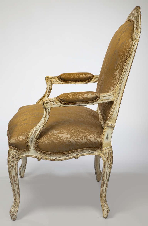 White wash arm chairs orleans ii chair