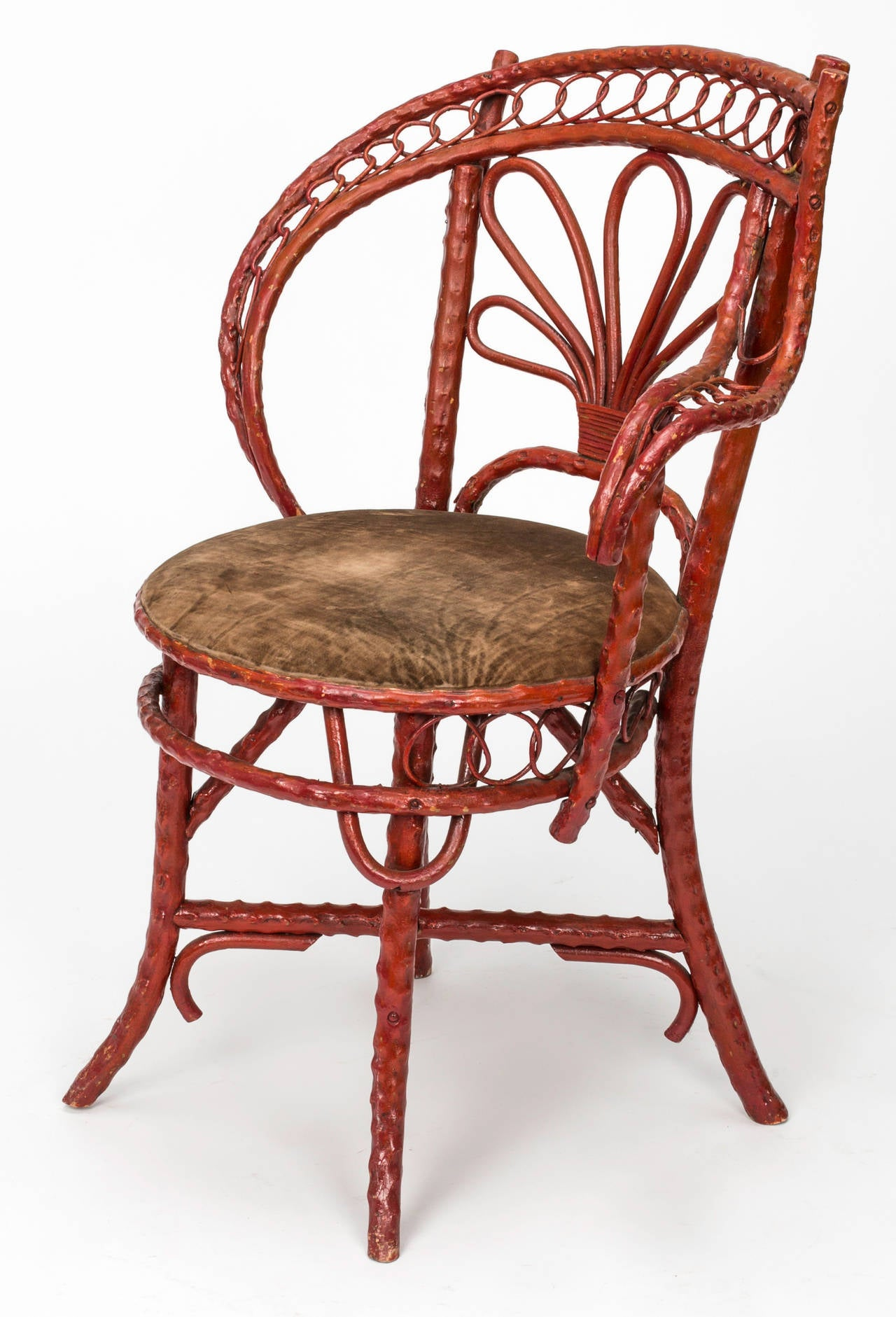 English bent bamboo armchair circa 1850s for sale at 1stdibs for Bent bamboo furniture