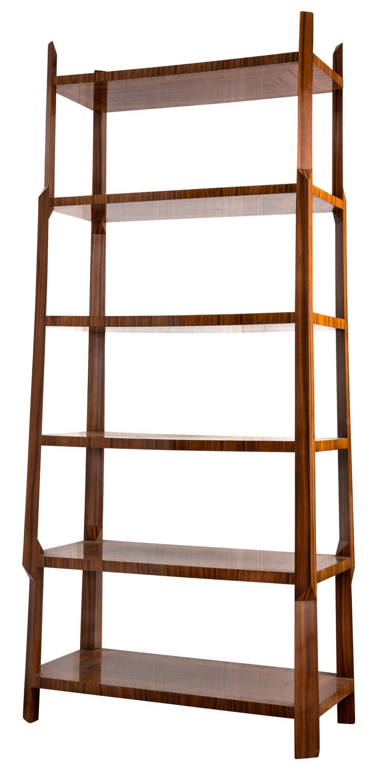 deco style etagere stand at 1stdibs. Black Bedroom Furniture Sets. Home Design Ideas