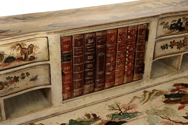 Early 1900s Chinoiserie Secretary Desk At 1stdibs