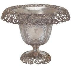 1914 Large Sterling Vase Centerpiece or Wine Cooler